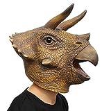 PartyCostume Máscara de Cabeza Humana de Fiesta de Traje Lujo de Halloween T - Rex Dinosaurio...