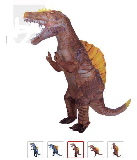 disfraz spinosaurio aliexpress